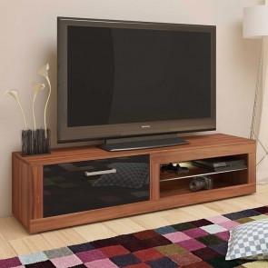 Mobile porta tv Samuel noce nero lucido