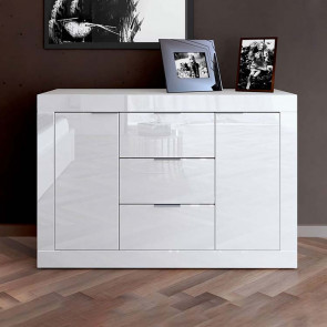 Credenza Chanel Gihome ® bianco lucido