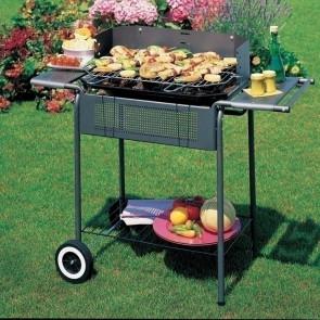 Barbecue Party a carbonella Carrello con ruote per campeggio giardino