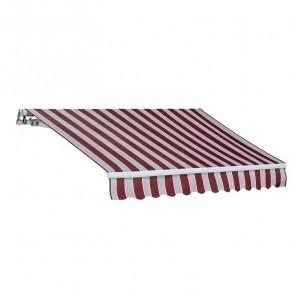 Tenda da sole a bracci riga rossa 250x200