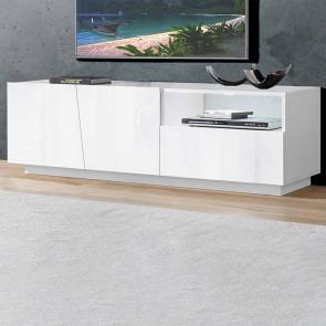 Mobile porta TV Candia 150 Gihome ® bianco lucido