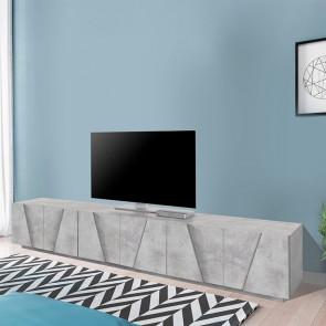 Mobile porta TV Samos Gihome ® 6 ante cemento