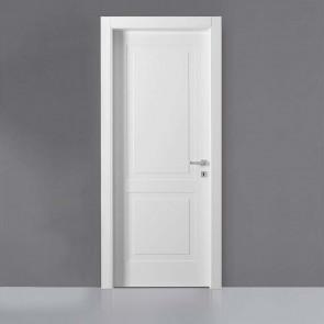 Porta interna Victoria battente 80 x 210 bianco laccato