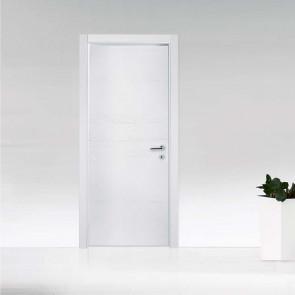 Porta interna Fabrizia battente 80 x 210 bianco struttura