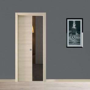 Porta interna Ilaria scorrevole scomparsa 70 x 210 orzo