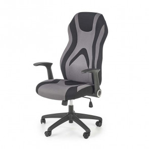 Gaming chair Michelle tessuto grigio nero