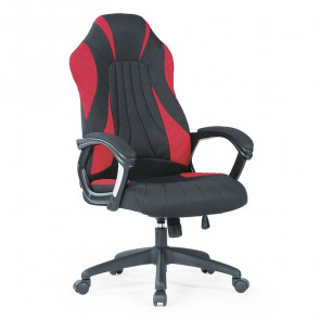 Gaming chair Abarth tessuto nero rosso