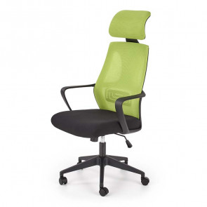 Sedia da ufficio Clay tessuto rete verde nero