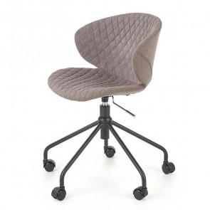 Sedia da ufficio Linda tessuto grigio design moderno