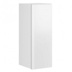 Pensile Leila 1 anta bianco opaco bianco vetro