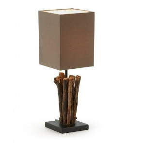 Lampada da tavolo Antares marrone