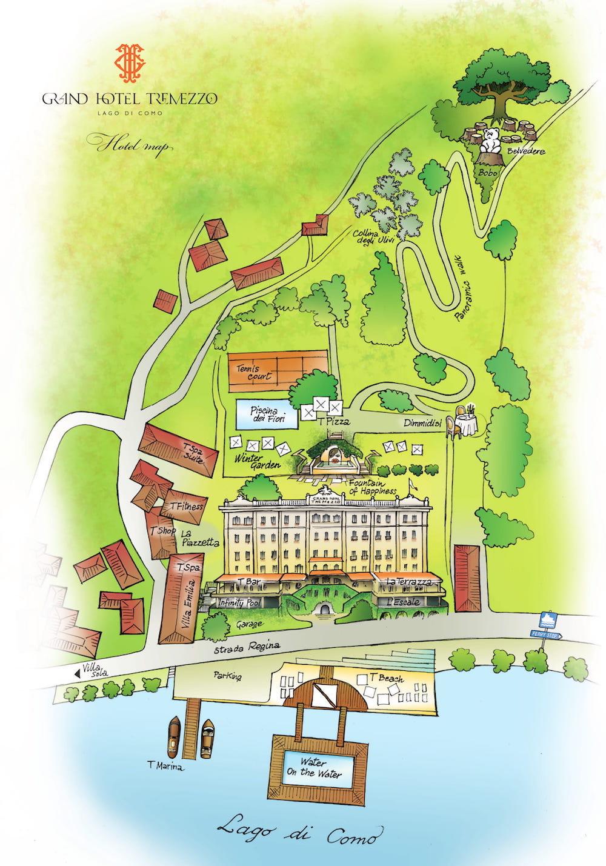 Luxury 5 star hotel on Lake Como near Bellagio - Grand ...