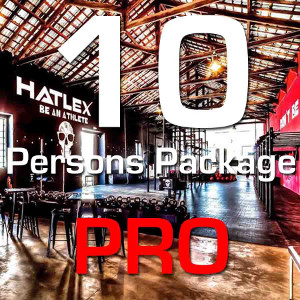 10 Persons Package Pro