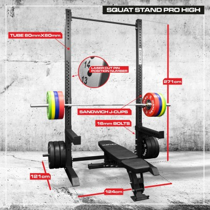 SQUAT STAND PRO HIGH