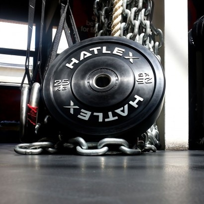 Training Black Bumper 25kg