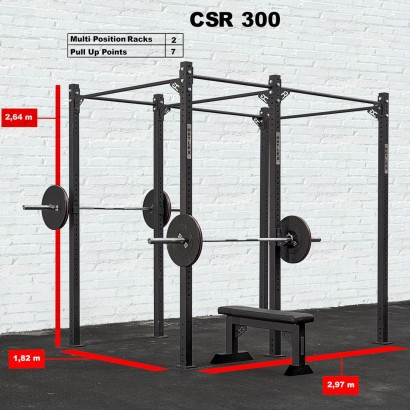 CROSS STATION + RACK 300
