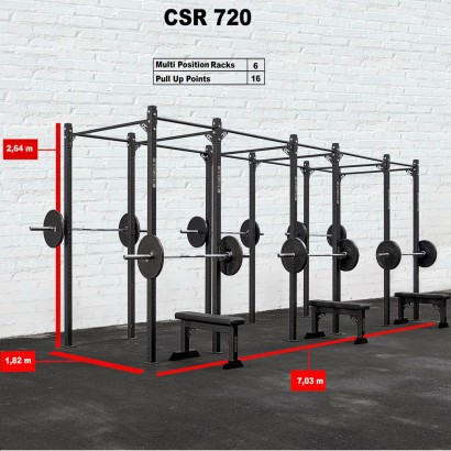 CROSS STATION + RACK 720