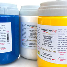 Colori acrilici, Acrilici IoCreativoShop 1000ml