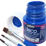 Colori per la decorazione, Pebeo Deco acrilici brillanti 45ml