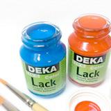 Colori acrilici, Colori acrilici lucidi Deka Lack