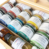 Pigmenti, Confezioni pigmenti in polvere