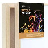Tele per dipingere, Tavole Mixer