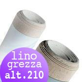 Tela Grezza Lino rotoli H 210 cm
