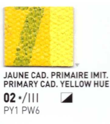 002 Giallo primario - Colore a olio Pebeo Studio XL 200ml Grande