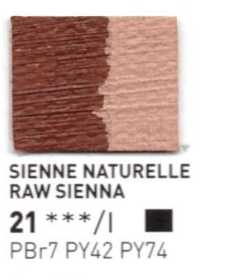 021 Terra di Siena naturale  - Colore a olio Pebeo Studio XL 200ml Grande