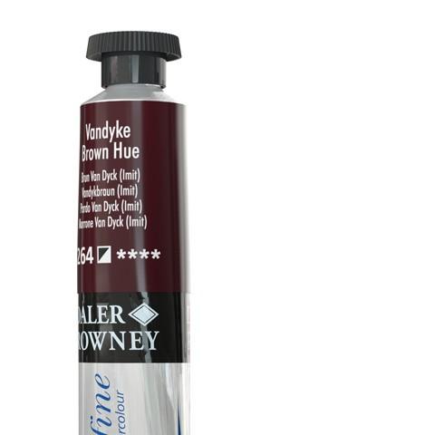 264 Bruno Van Dyck (imit) - Acquarello Daler Rowney Aquafine tubetto da 8ml