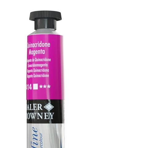 414 Magenta quinacridone - Acquarello Daler Rowney Aquafine tubetto da 8ml