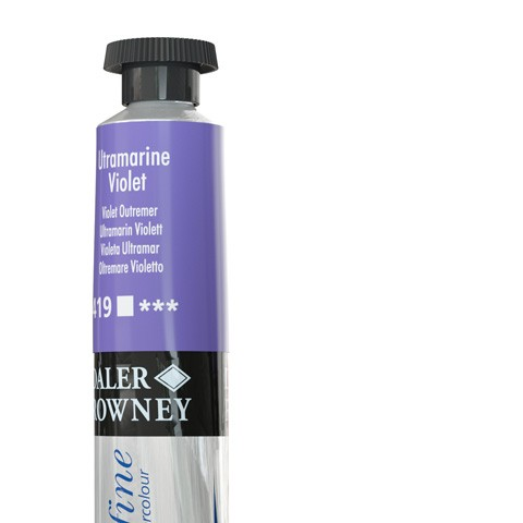 419 Oltremare violetto - Acquarello Daler Rowney Aquafine tubetto da 8ml
