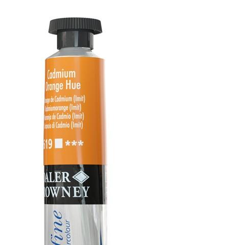 619 Arancio di cadmio (imit) - Acquarello Daler Rowney Aquafine tubetto da 8ml
