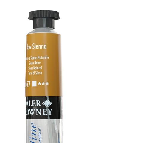 667 Terra di Siena naturale - Acquarello Daler Rowney Aquafine tubetto da 8ml