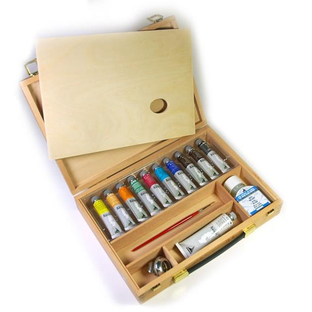 Vista aperta - prezzi Cassetta colori a olio - Colori a olio Maimeri Artisti, comprare