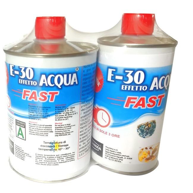 800gr Prochima E30 fast resina effetto Acqua fast