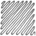 003 Contorno Argento - Idea Vetro rilievo Finto Piombo, colori per vetro