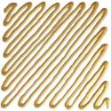 137 Contorno Oro chiaro - Idea Vetro rilievo Finto Piombo, colori per vetro