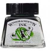 235 Smeraldo - Inchiostro Winsor e Newton 14ml