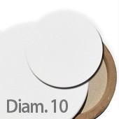 10 cm Tele per dipingere ROTONDE prezzi tele pittura rotonde
