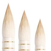 """prezzi Pennelli Tintoretto serie 1412 """"Bombasino"""" - Pelo di Capra Aquasoft, tondo, manico corto"""