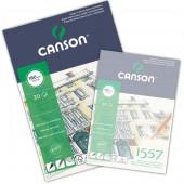 Blocco Canson 1557 Disegno, collato, 30 fogli, 180gr/mq, form. A3