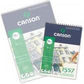 Blocco Canson 1557 Disegno, spiralato, 30 fogli, 180gr/mq, form. A4