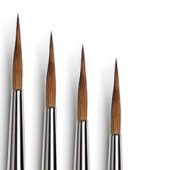 martora kolinsky pennelli per decorazione ceramica comprare pennelli bue ceramica tintoretto