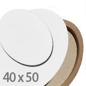 tele per dipingere ovali, 40x50cm prezzi tele per pittura ovali