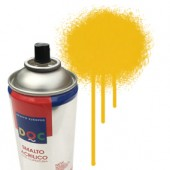 55005 Giallo  - Colore spray acrilico DocTrade bombetta 400ml colore acrilico spray brillante e coprente