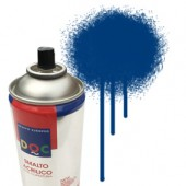 55076 Blu Segnale  - Colore spray acrilico DocTrade bombetta 400ml colore acrilico spray brillante e coprente