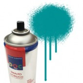 55088 Turchese - Colore spray acrilico DocTrade bombetta 400ml colore acrilico spray brillante e coprente
