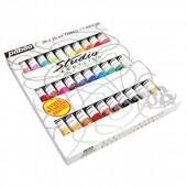 Colori acrilici pebeo, prezzi confezioni Colori acrilici pebeo, assortimento confezioni Colori acrilici pebeo