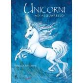 Libro Unicorni Acquarello - Il Castello Editore
